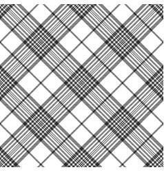 Monochrome fabric diagonal seamless texture vector