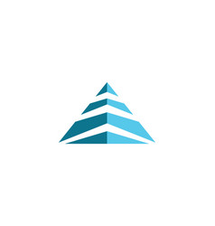 Pyramid logo template ilustration vector