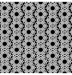 Seamless geometric background arabic pattern vector
