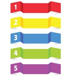 tag label color vector image vector image