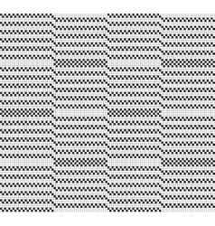 Black white grid pattern vector image