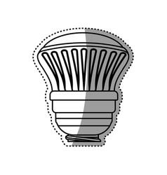 Light bulb electric halogen vector
