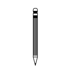 Pencil stationery tool icon image vector