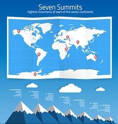 Seven summits vector