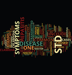 The in and out of std s text background word vector