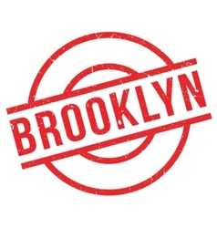 Brooklyn rubber stamp vector