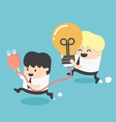 teamwork Support vector image
