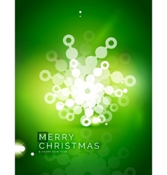 Christmas green abstract background with white vector