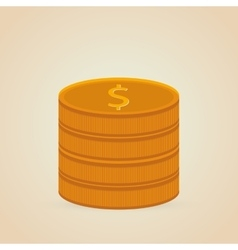 Coins icon design vector