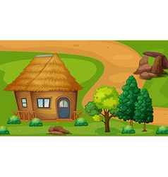 Cabin vector image vector image