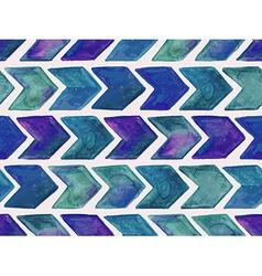 Seamless watercolor geometric pattern vector