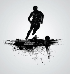sportsman vector image