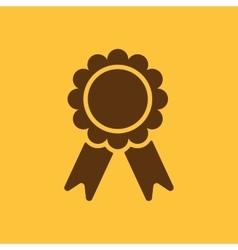 The award icon Achievement symbol Flat vector image