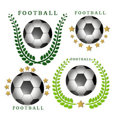 The theme football vector