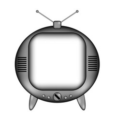 Tv sign icon vector