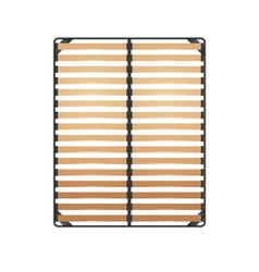 Slats bed frame vector