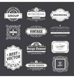 Design logo and monograms vector