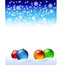 new years decorations vector image