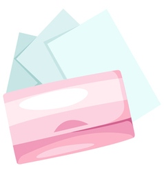 Cosmetic paper vector