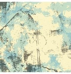 Blue gray beige grunge background vector image vector image