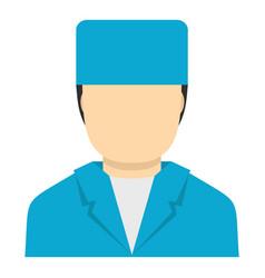 Plastic surgeon icon isolated vector