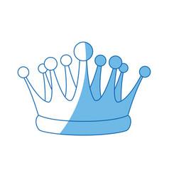 Crown kindom royal luxury icon vector
