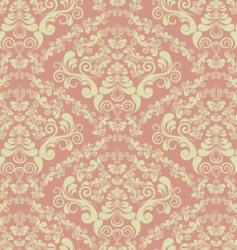 Decorative seamless floral ornament vector