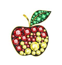 Gem apple vector