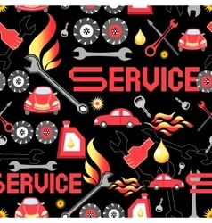 Design machine parts service vector image