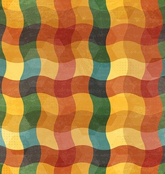 abstract vintage wave seamless vector image