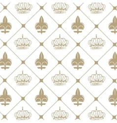 emblem royal quality design vector image vector image