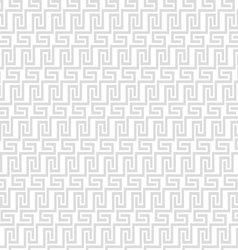 Grey geometric maze seamless pattern vector image vector image