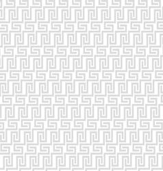 Grey geometric maze seamless pattern vector
