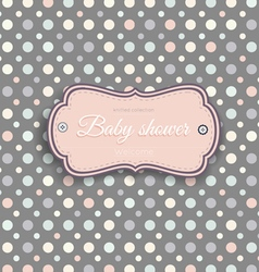 Pattern baby background6l vector