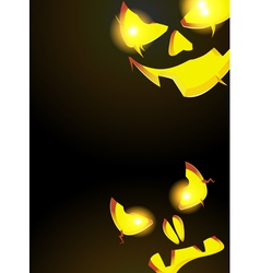 Night monsters jack o lanterns vector