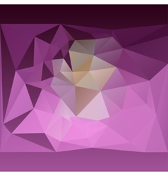 Abstract pink lilac background of triangles vector image