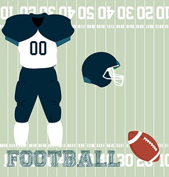 Sport uniform vector