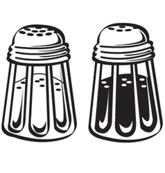 Kitchen shakers vector