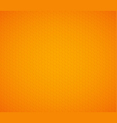 Orange yellow hexagon honeycomb background vector