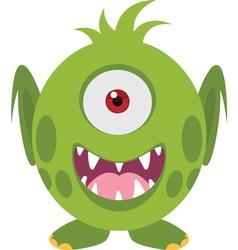 Scary icon vector