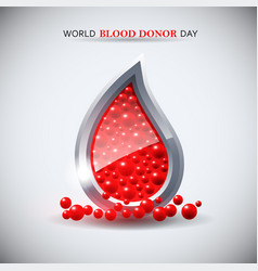 world blood donor day image vector image vector image