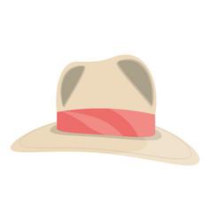 Women sun hat vector