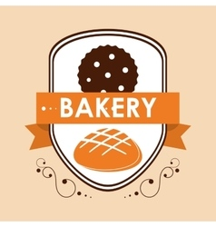 Bakery icon design vector