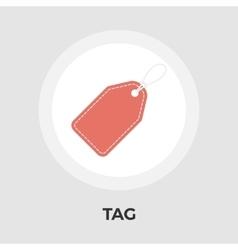 Label flat icon vector image