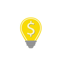 business idea flat icon finance and business vector image