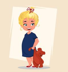 Cartoon-girl vector