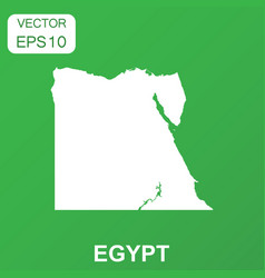 Egypt map icon business concept egypt pictogram vector