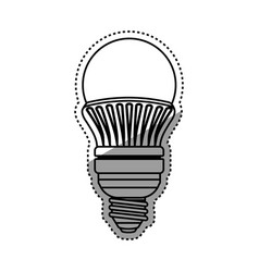 Light bulb electric led vector