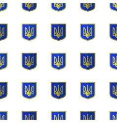 Symbol of ukraine seamless ukrainian pattern vector