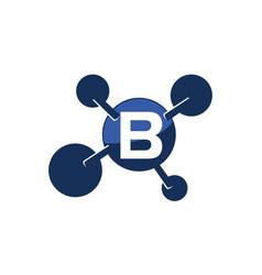 Synergy logo initial b vector